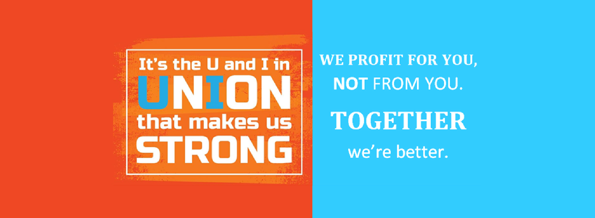 together we're better graphic